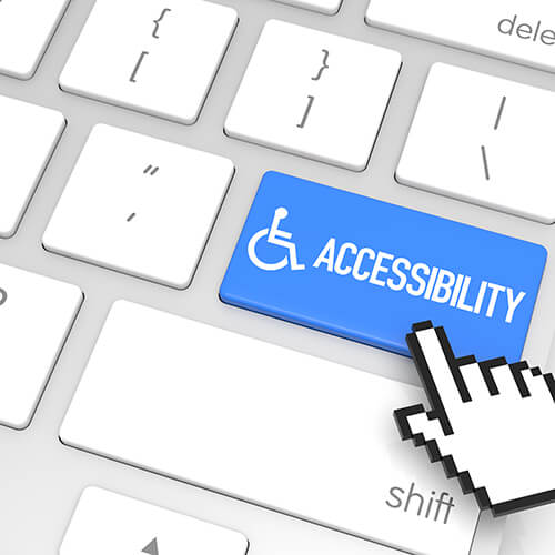Visually Impaired Accessibility Output